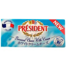 Processed Cheese with cream. President. 250g
