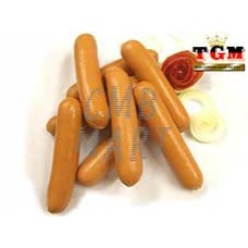Pork Smoked Hotdog sausages 5', price for 1 kg Eurola