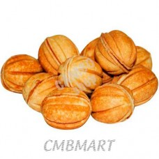 Cookies nuts with boiled condensed milk 250 gr