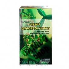 Cissus quadrangularis capsules 100 tab. 250 ml.