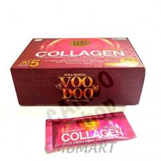 Mask of collagen.