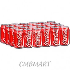 Coca-Cola can 330 ml. 1 box 24 pcs.