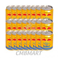 Red bull can 250 ml. Price for 1 box 24 can