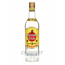 Rum Havana Club Blanco, 1000 ml