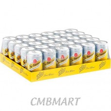 Schweppes Tonic water 1 box 24 cans 330 ml
