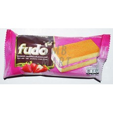 FUDO Layer Cake with Strawberry Cream Flavor 18 Gm