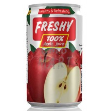 Freshy Apple Juice can 330 ml
