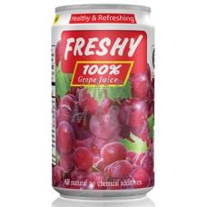 Freshy Grape Juice can 330 ml