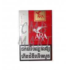 ARA RED Cigarettes. 1 carton contains 10 packs.