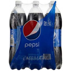 Pepsi Cola 1.5 Lt, 1 box.