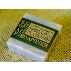 "Soap ""Kaffir Lime & Spirulina"" 100 g"