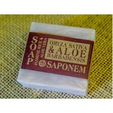 """Soap """"Rice & Aloe Vera"""" 100 g"""