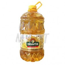 Bravita Sunflower oil, 5 Lt