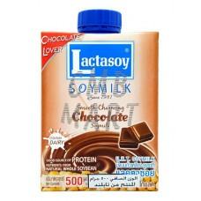 Lactasoy. Soy Milk Chocolate 500 Ml