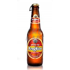 """Angkor"" beer 330ml Pint Bottle"