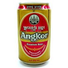 """Angkor"" beer can 330 ml"
