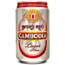 "Beer ""Cambodia""  330 ml 1 can"
