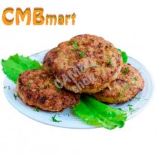 Beef and pork patties 180g. Frozen. (2pcs)