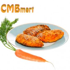 Carrot patties. 150g. (2pcs)