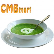 Cream of spinach with potato. 500 g Frozen.