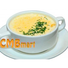 Cheese Cream Soup with Chicken. 500 g Frozen.