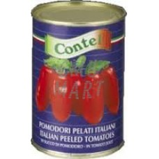 Contel Whole Peeled Tomatoes 400g
