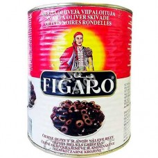 Figaro Pitted Black Olives 3000G
