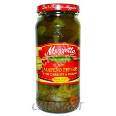 Mezzetta, Jalapeno Peppers with Carrots and Onions 473 Ml