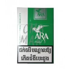 ARA MENTHOL Cigarettes BOX