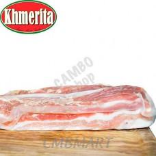 SMOKED BACON BELLY STRIPES KHMERITA 200g