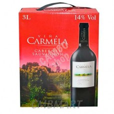 Red Wine CARMELA Cabernet Savignon 3000 ml, 14%
