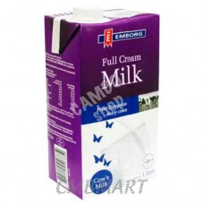 Emborg Full Cream Milk 1 Lt