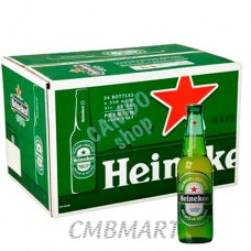 """Heineken"" beer bottle 330 ml 1 box 24 bottles"