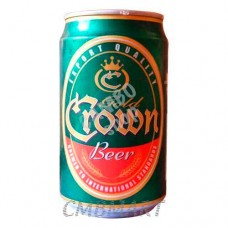 Gold Crown beer can 330 ml