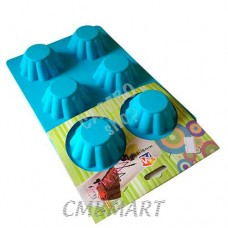 Oven mould for cupcakes