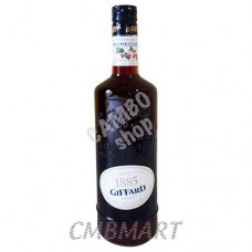 "Srrawberry Liqueur  ""Giffard"" 0.7l"