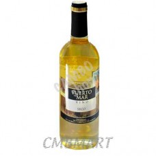 "White Wine ""Puerto Mar"" Vino Blanco Seco 0.75 L"