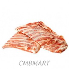 Pork ribs raw Frozen. 750g