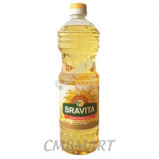 Bravita Sunflower oil, 1 Lt