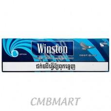 WINSTON Deep blue Cigarettes