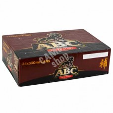 """ABC Stout"" beer can 330 ml 1 box 24 cans"