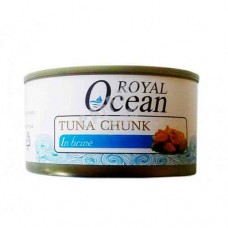 Royal Ocean Tuna Chunk In Brine 185g