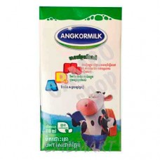 Milk Angkormilk ADMg 110 ml. UHT Milk Sweetened. 3.2%