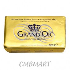 Butter Grand'Or 200 Unsalted gm