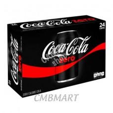 Coca-Cola Zero can 330 ml, Box 24 pc