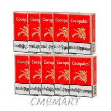 Cocopalm. Cigarettes 1 carton contains 10 packs. 1 pack contains 20 cigarettes.