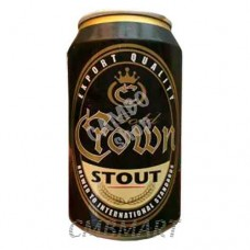 """Crown Stout"" beer can 330 ml"