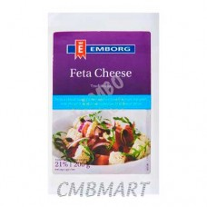 Emborg Feta Cheese 200 Gm
