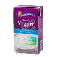 Emborg Natural Yogurt 1 Lt