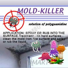 MOLD-KILLER S5100 anti-mould and disinfectant solution. 5% solution of polyguanidine 500 Ml